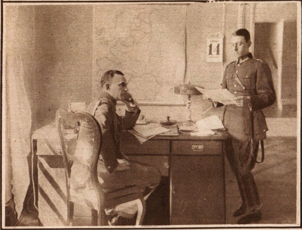 adiutanci Marszałka źródło: tygodnik Światowid, 1926 r.